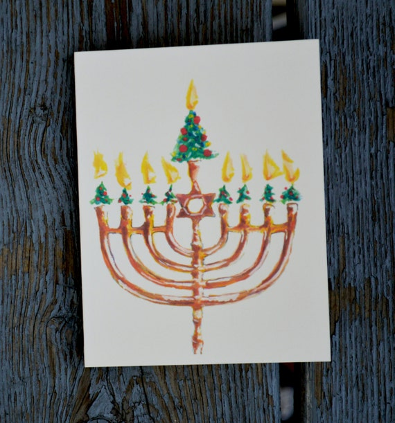 Interfaith Holiday Cards: Christmas Tree By HappyChalladays