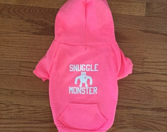 American Apparel Snuggle Monster Dog Hoodie