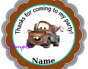 Mater Personalized Stickers, Party Favor Tags, Thank You Tags, Gift Tags, Birthday, Baby Shower