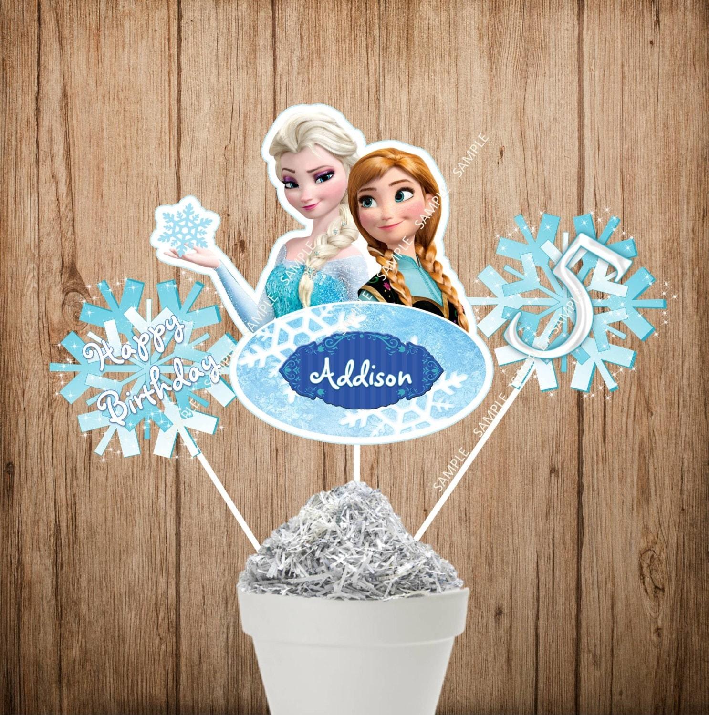 Frozen Movie Centerpieces Disney Frozen Centerpiece