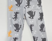 baby leggings, wild things leggings, organic leggings, newborn leggings, toddler leggings