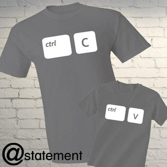 p re fils correspondant mignon t shirts copier par. Black Bedroom Furniture Sets. Home Design Ideas