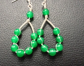 Jade Earings Gorgeous colour