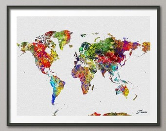 Milano skyline milano art milano print milano painting watercolor world map watercolor poster watercolor art watercolor map world map deocr print poster map decor gumiabroncs Image collections