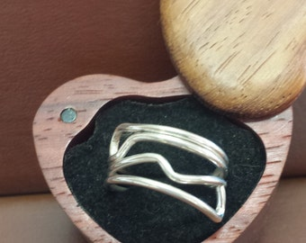 Sterling Silver Accent Ring
