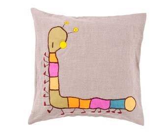 Linen Handemade Cushion Cover
