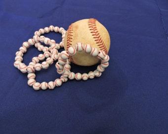 Baseball Bracelets Beaded