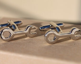 Mechanic Craftsman Wrench Cufflinks