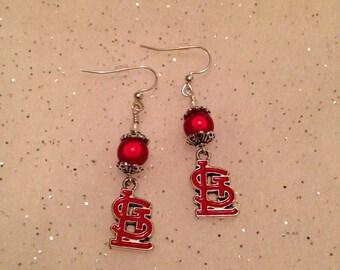 Very Cute St Louis Cardinal earrings:)