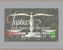 Lawyer's Creed Framed Art by Mickie Caspi