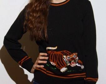 Getting It Vintage Tiger Sweater