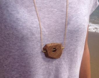 Original geometric pendant