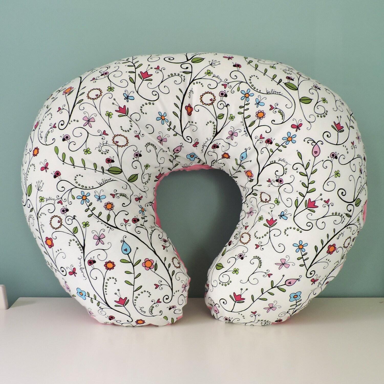 Boppy Cover // Nursing Pillow Cover // Minky Dot by BittyBDesign