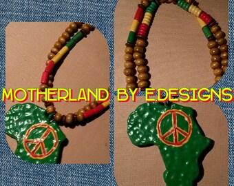 Rasta Africa Beaded Chain