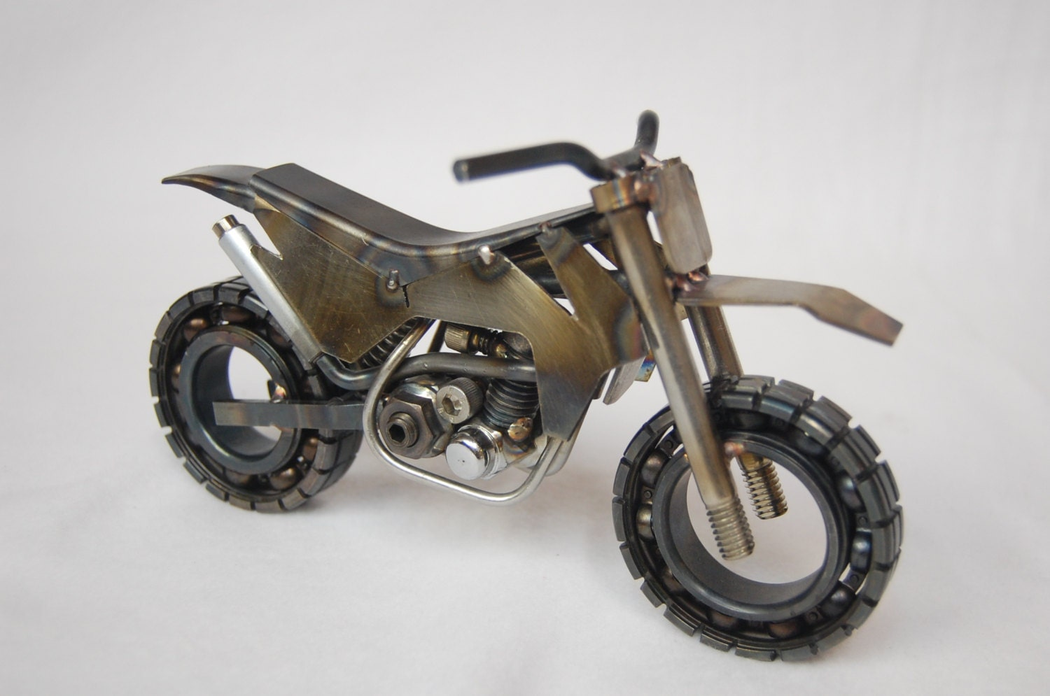 Ktm motorcycle metal art dirt bike for What is dirt made out of