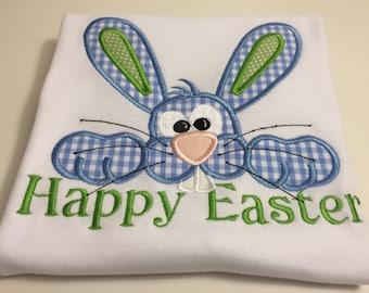 Easter Bunny-Blue Children's T-Shirt