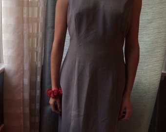CLEARANCE Grey Businessy Dress Size Medium