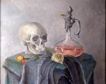 Magic - Original Oil Painting - 23,6x19,7 inch