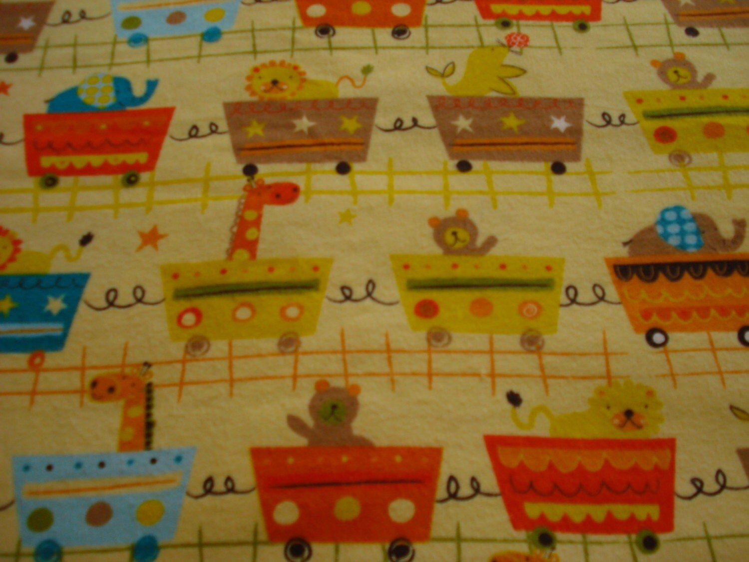 Zoo animal fabric flannel fabric baby shower gifts baby fabric for Baby themed fabric