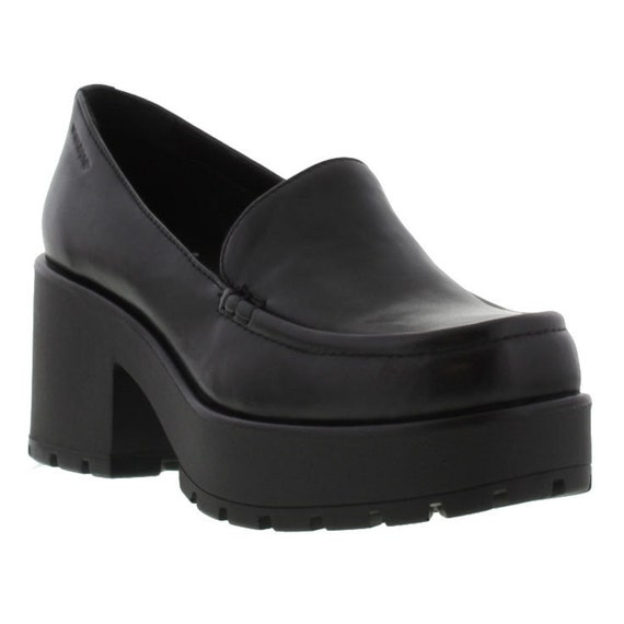 Vagabond Dioon Slip Loafer Platform Shoe 7 90's By GRIDLOFT
