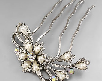 Pearl Bouquet Comb