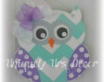 Mini Owl Door Hanger