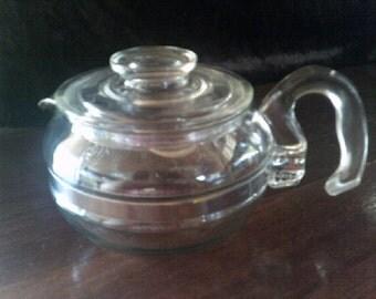 Pyrex Flameware Teapot / Kettle 6 cup