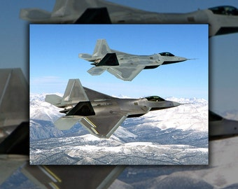 24x36 Poster; F-22 Raptor
