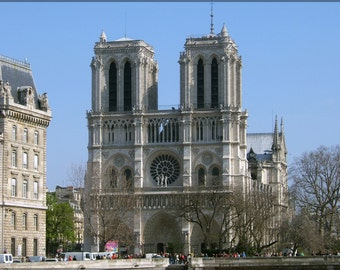 24x36 Poster; Notre Dame Cathedral
