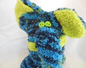 Sock Creature - Slant and Almond-Ding