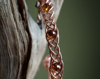 5 strand braided bracelet