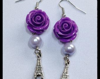 Earrings Eiffel Tower Earrings