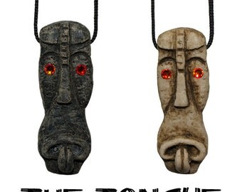 The Tongue Tiki Necklace