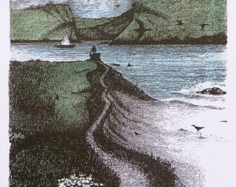 Where the Land, Sea & Sky Kiss