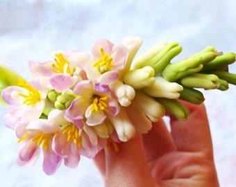 Wedding Hair Accessories - Bridal Barrette - Flower Floral Women Girl Accessory - Hair Accessories for Wedding