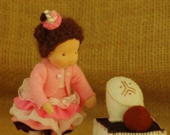 Sweet girl // Waldorf doll for girls