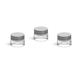 Glass Jars .25 oz.  - Set of 3