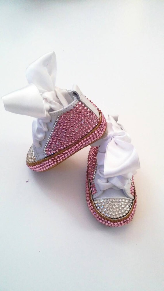 Bling Baby Converse Bling Baby shoes Baby girl by