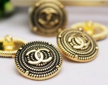 Metal Buttons Garment Accessories Sewing Supplies Buttons Jewelry