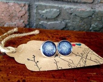 Space Travel post earrings
