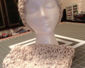Crochet Slouchy Hat in child and adult sizes