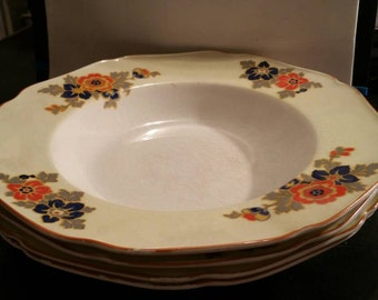 Crown Ducal Ware Soup Bowls