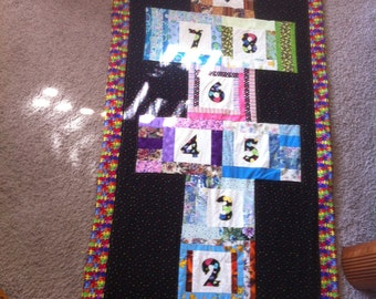 Fun Hopscotch Quilt