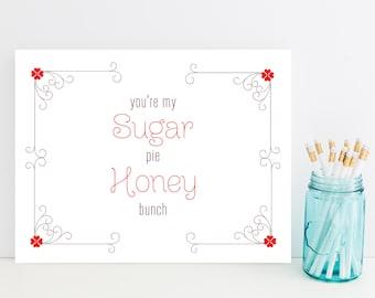 Sugar Pie Honey Bunch Card