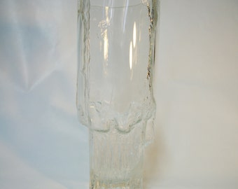 Iittala Minerva Glass Vase by Tapio Wirkkala, Scandinavia 2755