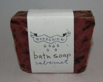 Bath bar soap - Cabernet