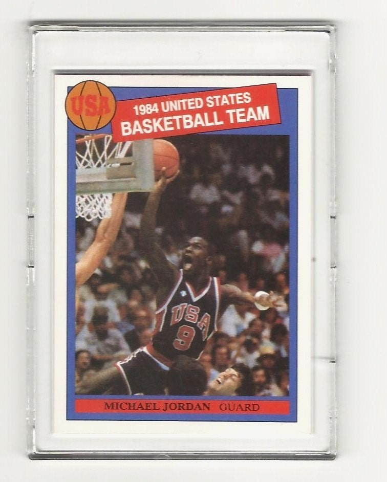 1984 Michael Jordan Rookie Card USA Olympic Basketball Team