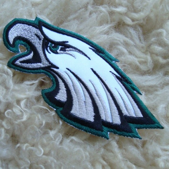 Pc philadelphia eagles embroidered iron on sew by