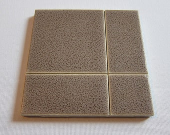 "FR84 One Square Foot of Original Vintage 1960s 4"" x 4"" Wall Tile, 150 Sq Ft Available, Made in the USA"