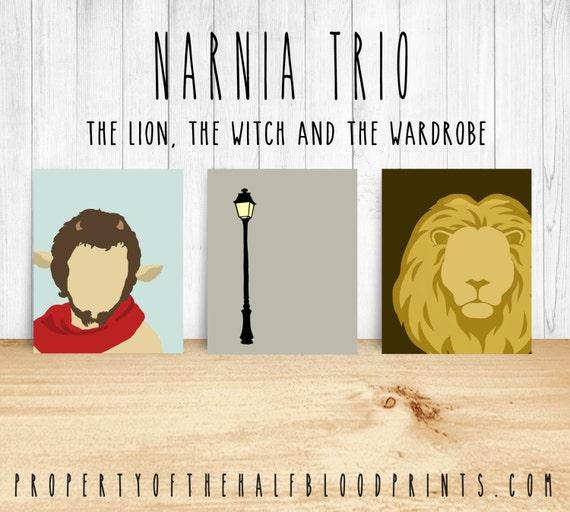 Narnia Minimalist Set Of 3 Diy Geek Nerd By Thehalfbloodprints